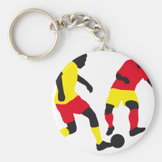 plus soccer players porte-clef