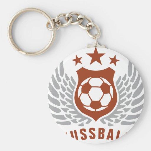plus soccer porte-clefs