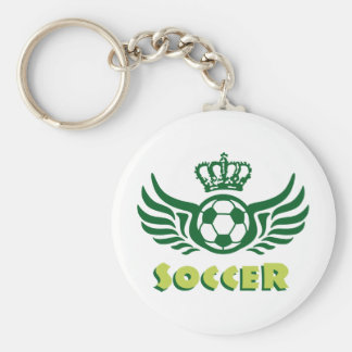 plus soccer porte-clef