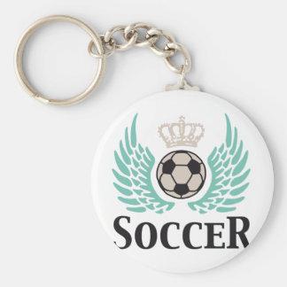 plus soccer porte-clés
