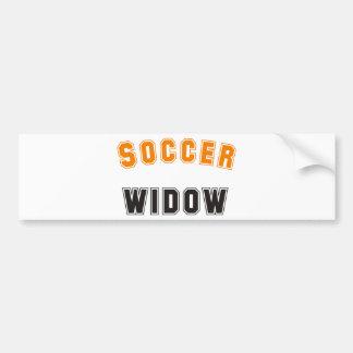 plus soccer widow autocollant pour voiture