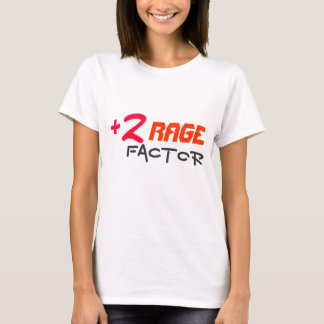 Plus Two Rage Factor Women's T Shirt