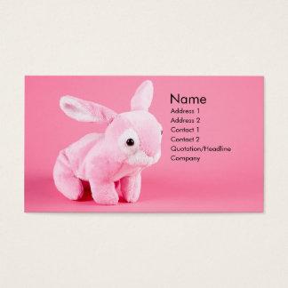 Plush Bunny Profile Card