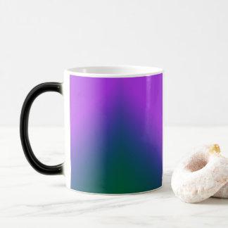Plush Peacock Ombre Magic Mug