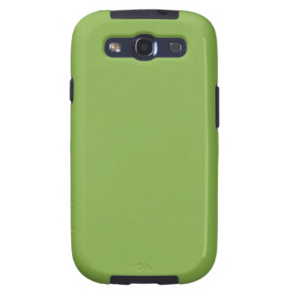 Plushly Ubiquitous Green Color Samsung Galaxy SIII Covers
