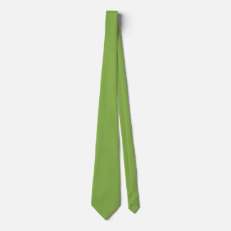 Plushly Ubiquitous Green Color Tie