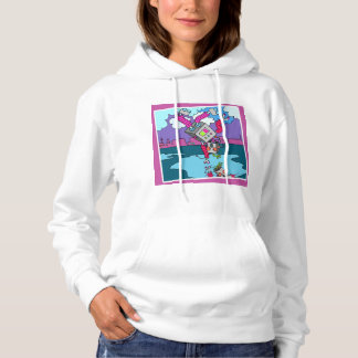 #plussize I'm so excited hoodie by DAL