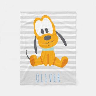 Pluto | Baby Pluto - Add Your Name Fleece Blanket