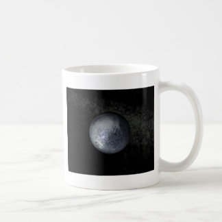 pluto classic white coffee mug