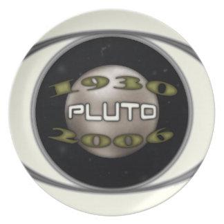 Pluto Commemorative 1930-2006 Plate