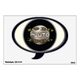 Pluto Commemorative 1930-2006 Wall Sticker
