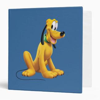 Pluto | Eyes to Side Vinyl Binders