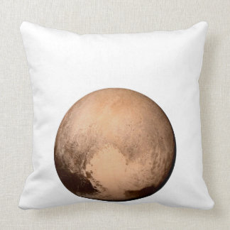 PLUTO FOR PLANETHOOD! JOIN THE CAMPAIGN! see below Throw Pillow