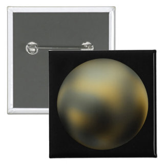 Pluto imaged by NASA's Hubble Space Telescope Pinback Buttons