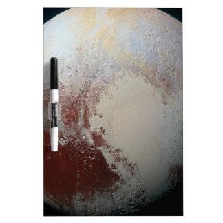 Pluto lovers dry erase whiteboard
