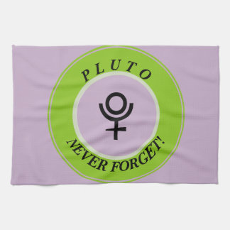 Pluto, never forget kitchen towel