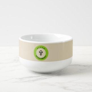 Pluto, never forget soup mug
