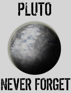 87a0fbb4b Pluto Never Forget T-Shirts & Shirt Designs | Zazzle.ca