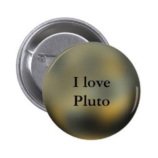 Pluto Planet 2 Inch Round Button