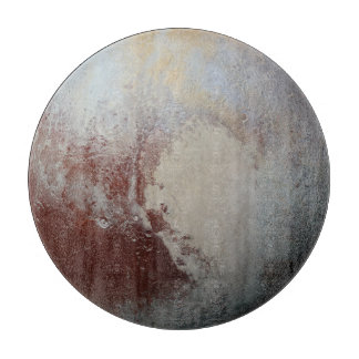 Pluto planet cutting board