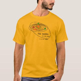 Pluto Planets Trick Question T-Shirt