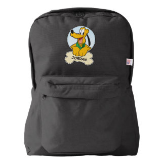 Pluto | Pup with Name Backpack