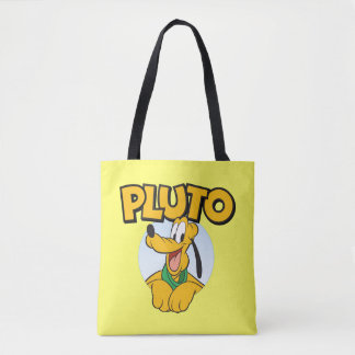 Pluto | Pup with Name Tote Bag