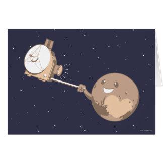 Pluto Selfie Card