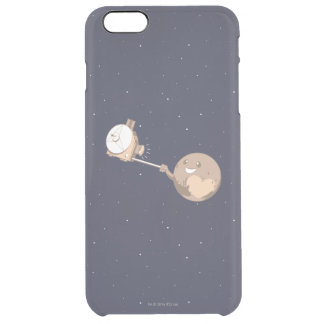 Pluto Selfie Clear iPhone 6 Plus Case