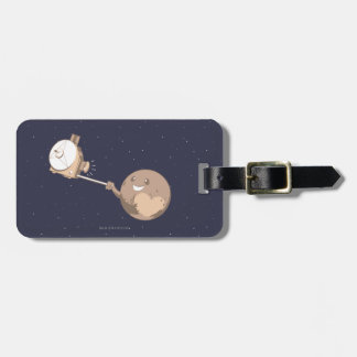 Pluto Selfie Luggage Tag