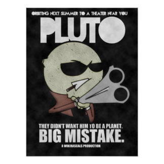Pluto: The Movie Poster