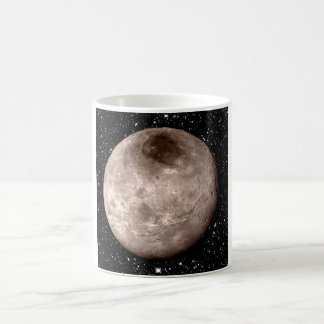 PLUTO'S MOON CHARON star background (solar system) Coffee Mug