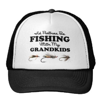 Plutôt pêche des Grandkids Casquette Trucker