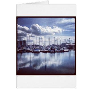 Plymouth boats card