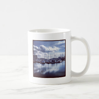 Plymouth boats coffee mug