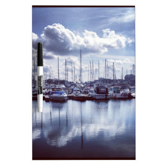 Plymouth boats dry erase board