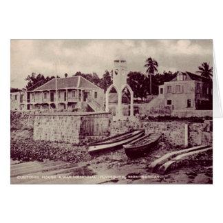 Plymouth - Customs House & War Memorial Card