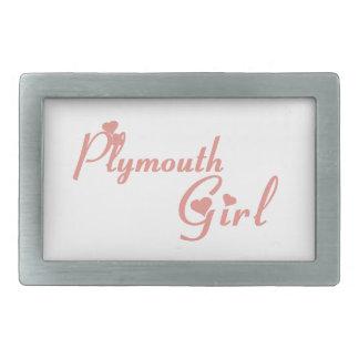 Plymouth Girl Belt Buckle
