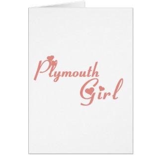 Plymouth Girl Card