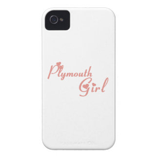 Plymouth Girl Case-Mate iPhone 4 Cases