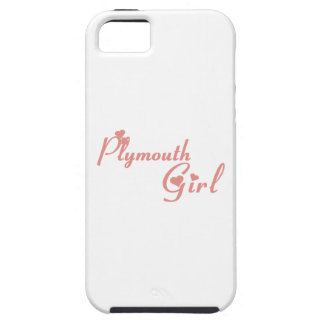 Plymouth Girl iPhone 5 Cover