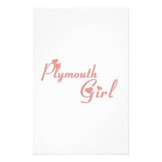 Plymouth Girl Stationery