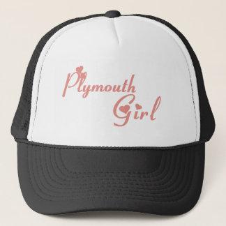 Plymouth Girl Trucker Hat