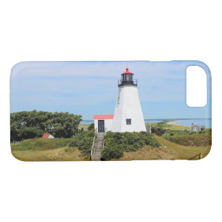 "Plymouth Lighthouse, ""the Gurnet"" Massachusetts iPhone 8/7 Case"