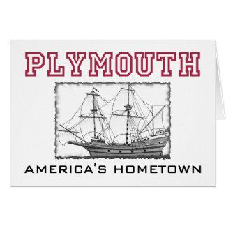 Plymouth, MA Card