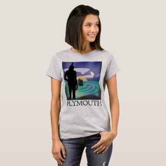 Plymouth Massasoit's Gaze Ladies Tee