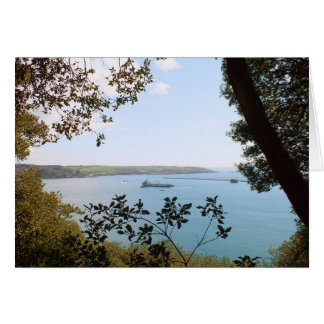 Plymouth Navy Ship Landscape Card