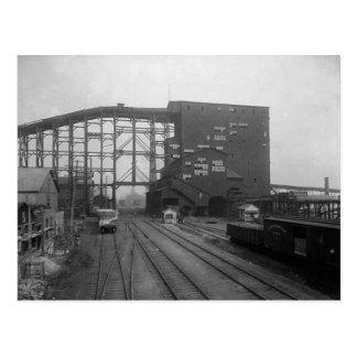 Plymouth Pa. Coal Breaker Postcard