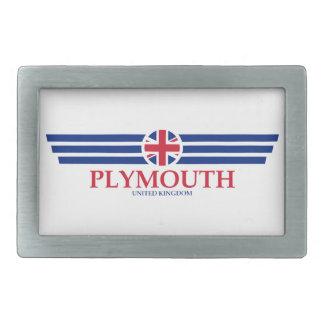 Plymouth Rectangular Belt Buckles