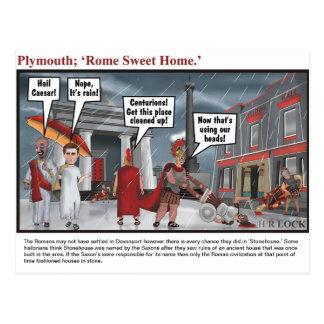 Plymouth ; Rome doux à la maison Cartes Postales